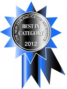 Best in category award 2012